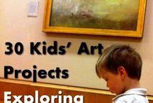 kids' art projects