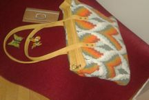 crochet bags made by me / my bags