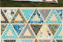 Patchwork i hexagoner / 6-kanter