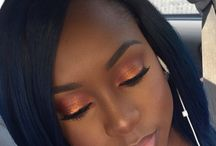 Make-up for dark skin