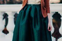 Платья, юбки, женственность