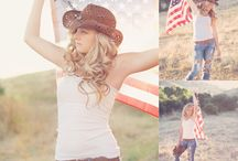 Cowgirl Themed Model Shoot