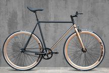 Eclipse Matte Copper 60Streets Daiquiri Limited Edition Fixed Gear Single Speed Fixie Bike