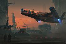 Spacecraft - Landers & Haulers