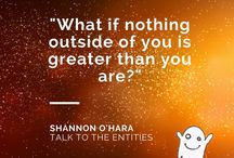 Shannon O'Hara Quotes / As the creator of Talk to he Entities I invite you to come and play with the spirit world and really claim the potency you have with entities and the gift they can be to you. #TTTE #ShannonOHara https://www.facebook.com/ShannonOHaraCFMW