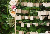 Place Cards and Escort Tags / A collection of eye-catching place cards, escort tags, seating charts, and more.