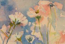 Flowers. Art.