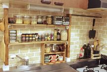 キッチン diy