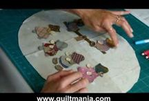 video patchwork quilt applique