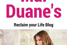 Follow Me / How to stay connected with Mal Duane of Reclaim your Life / by Mal Duane