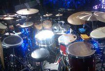 "Yose Kristian Drum Set ( Ludwig Snare Drum ""Black Beauty"" ) / For the concert in Medan #SuaraUntukNegeri Iwan Fals & Band"