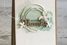 stampin up swirly scribbles  thinlits
