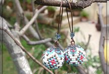 Bijoux perles tissées