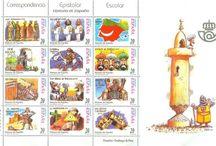 Sellos Dibujantes españoles