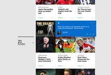 Sport web inspiration