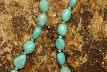 Number 8 Nevada Turquoise Beads and Handmade Jewelry