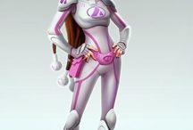 Zbrush Armor Girls