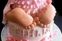 babyshower cakes girl