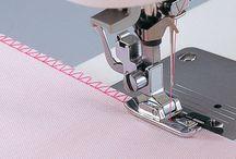 symaskine tilbehør og mønstre