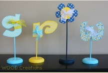 Spring Creations / Small peek at spring crafts currently in the store.