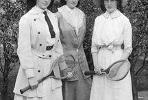 TENNIS HISTORY / Zajímavé obrázky o tenise