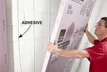 House repair, insulation, elect. Etc.