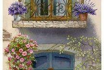 Wejścia do domu okna, drzwi