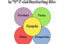 "Le ""5"" P del Marketing Mix / Le ""5"" P del Marketing Mix. La nuova P del Marketing Mix... People!!"