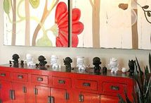 Chinese Cabinets in interiors