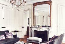 parisian style - interiors