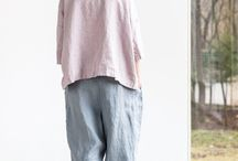 брюки/лен