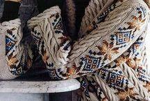 Вязание спицами - жаккард