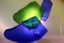 Strandglas / Ideen mit Strandglas