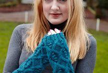 Stricken Handschuhe Pulswärmer Tücher Schals