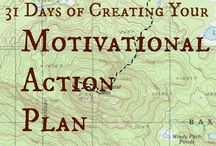 31 Days to Creating Your Motivational Action Plan / Yes, you can get there from here, with a good M.A.P.  I'll walk you step-by-step through the process of creating visual goals and action steps to achieve your own personal Everest - in 31 Days.