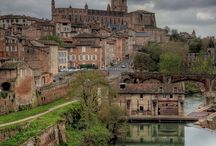 Albi, a setting in the novel ... / These pictures inspired me to include Albi, France as a setting in the novel. x