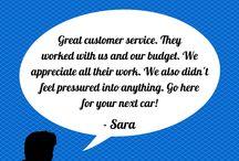 Customer Testimonials / Honda of Murfreesboro serving Nashville, Franklin, Clarksville, Lebanon, Smyrna and Murfreesboro, Tennessee. http://www.hondaofmurfreesboro.com/