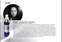 Mens Fashion Magazine / Our Kevin Drew Beard Oil gets a mention!