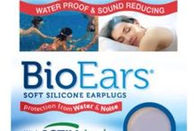 BioEars / Earplugs for swimming, sleeping and general noise reduction.