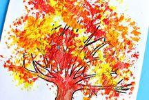 škola - podzim