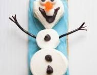 Henry's Olaf in Summer Birthday Party