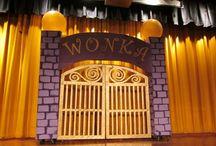 Willy Wonka Set Pieces