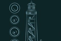The Lighthouse Diaries - Graphic Novel / A comics adaptation of Stefania Trimboli's novella The Lighthouse Diaries (work in progress). Chapter I.