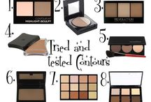 Must Have Makeup / Tried and tested contour products