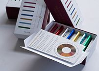 Packaging Design / Our design challenge: In a small space create a spare and beautiful presentation to engage and educate the consumer in the value of a higher price point.  The package unfolds and invites the buyer to revel in the pleasures of tasting 7 truly unique chocolates. Stark white was chosen to highlight the primary colors, which were then coded for a walk through the tasting experience.  An educational insert mapping the countries the beans are sourced from differentiates each tablet.