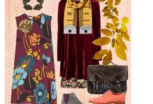 Mood /  clothing, styling and sewing mood boards