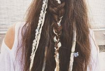 Messy Wedding Hippie Hairstyle Hair Hairstyles