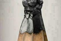 Kunst aus Stiften