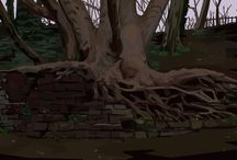 various paintings