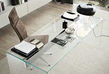 Sklenený nábytok / nábytok zo skla